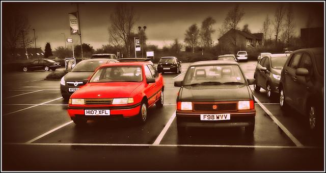 1990 Vauxhall Cavalier 2.0 GLi & 1989 Vauxhall Nova 1.0 Base