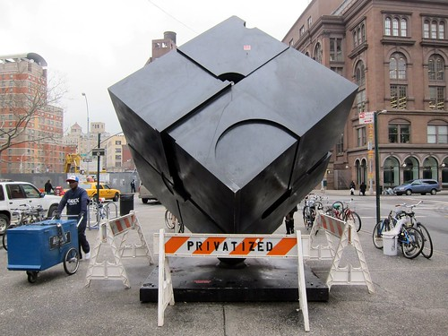 The Astor Place cube, the Alamo, gets Privitized