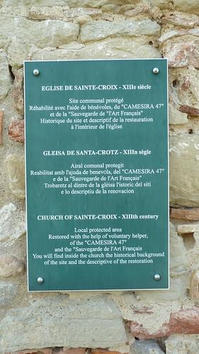 Lévignac-de-Guyenne - L'Eglise de Sainte Croix 07