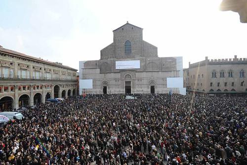 Bologna, 4 marzo 2012 - Lucio Dalla: le esequie nella basilica di San Petronio