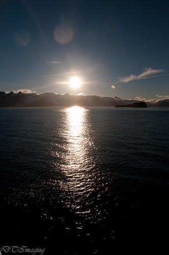 sunset southgeorgia plancius prionisland