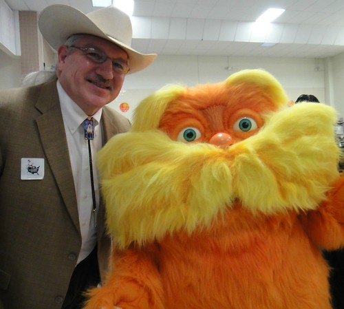 "Arthur ""Butch"" Blazer and the Lorax."