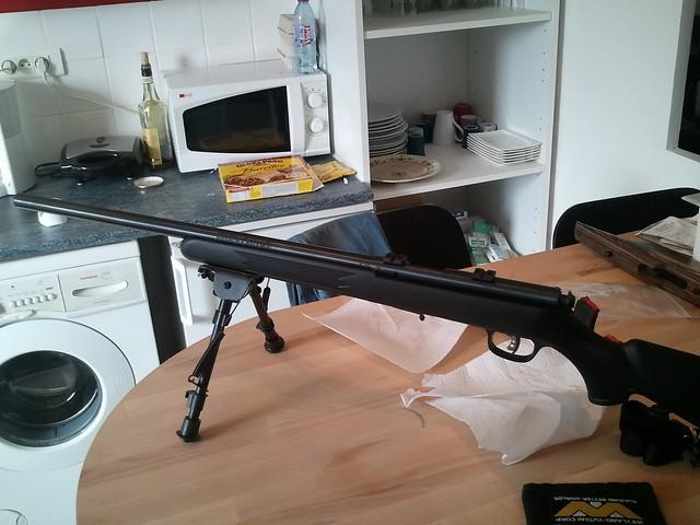 Browning tronbone & Savage MkII FV Custom 6956708961_6288da5586_z