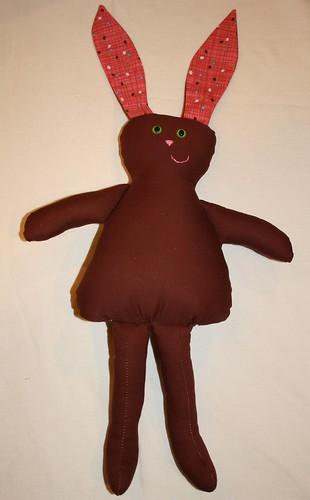 Cadbury the bunny doll