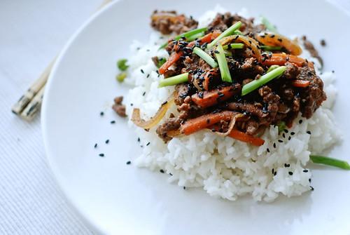 5-spice beef stir-fry