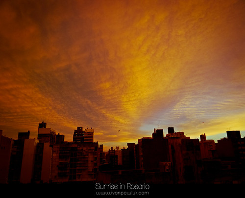 Sunrise in Rosario by IvanPawluk2