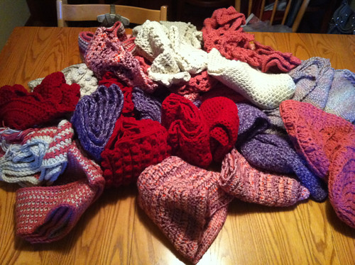 items made with karen's yarn