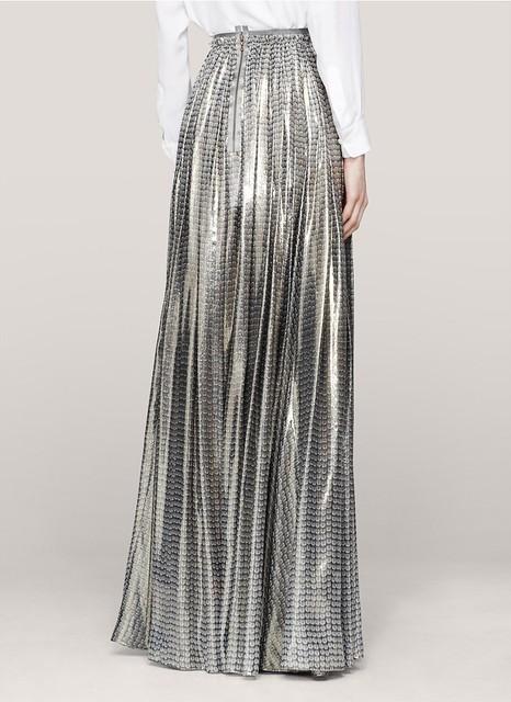 Lanvin Sequin-print maxi skirt