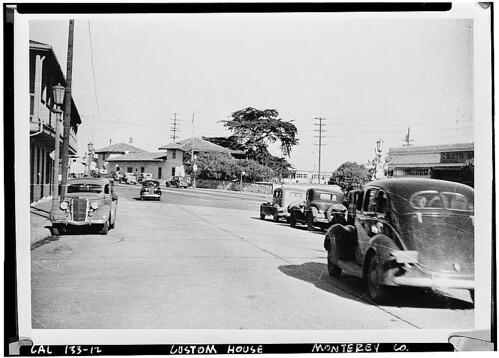 Custom House Plaza, 1940