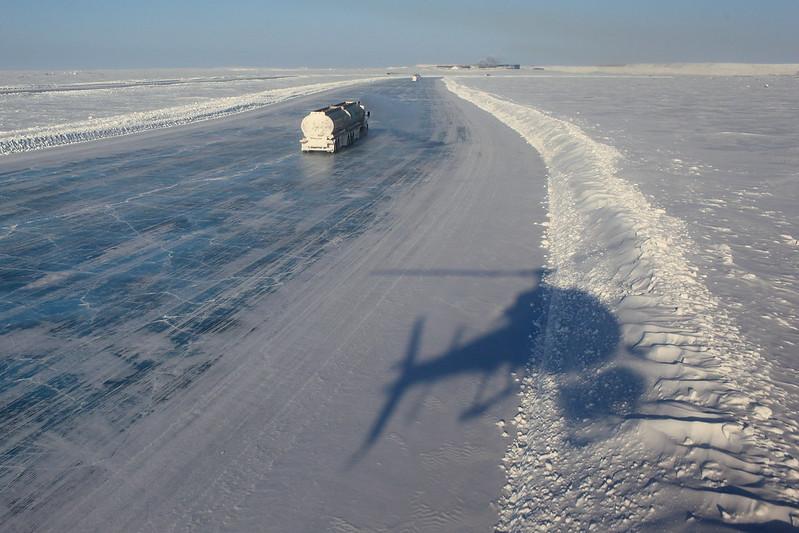 Carretera de hielo