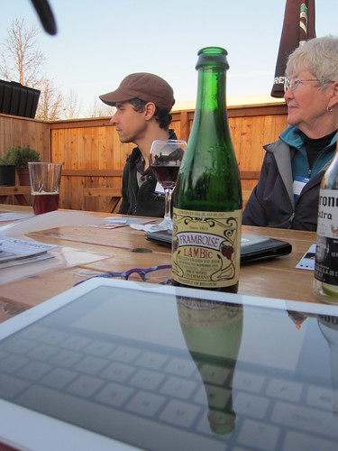 Advocacy goes better with tasty Lambic