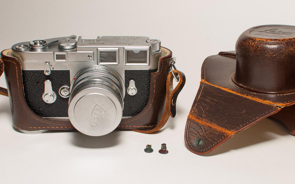 Leica M3 Original Half Case Mod