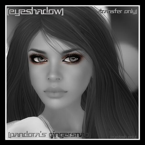 [mock] Eyeshadow Lash combo, Pandora's Gingersnap by Mocksoup
