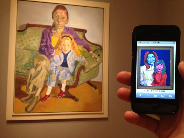 linda nochlin and daisy | alice neel