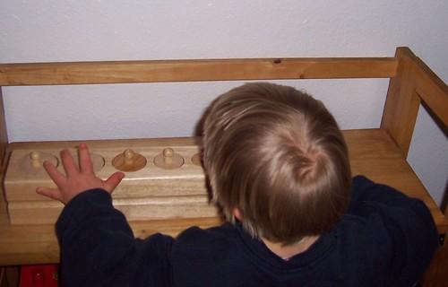 Montessori Cylinder Block (Photo from Confessions of a Montessori Mom)