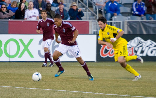 Rapids vs. Crew 2012 Quincy Amarikwa by CE's Photography