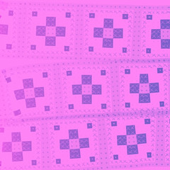 Grid Pattern in Pink and Blue-Violet by randubnick