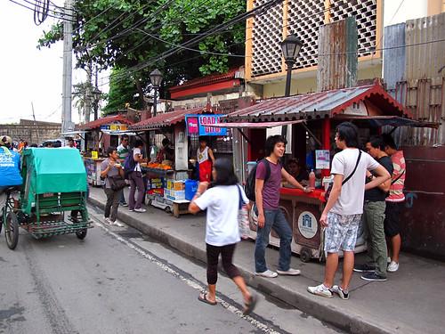 Street Vender Intramuros Manila