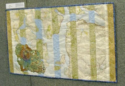 Map Quilt