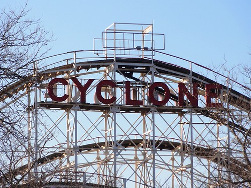 Iconic Cyclone Ride