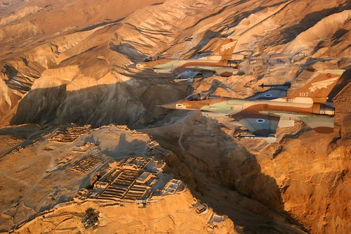 Masada Flyover