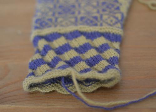 Fishtail cuff