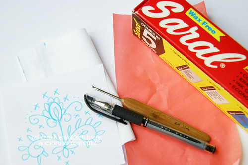 Transfer paper tutorial