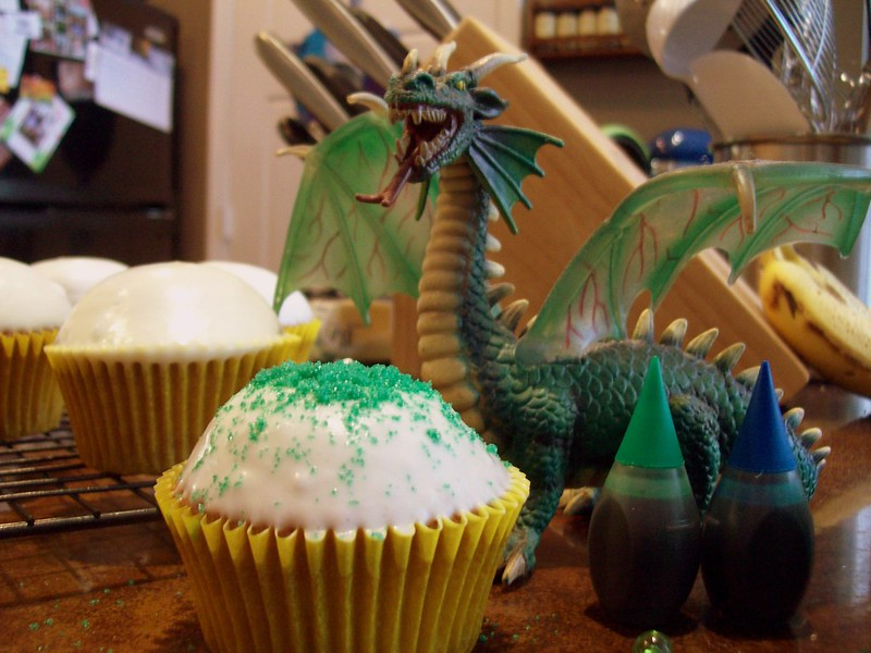 This Cupcake is Dragon Approved!