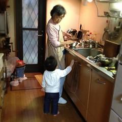 ばあばととらちゃん(2012/5/4)