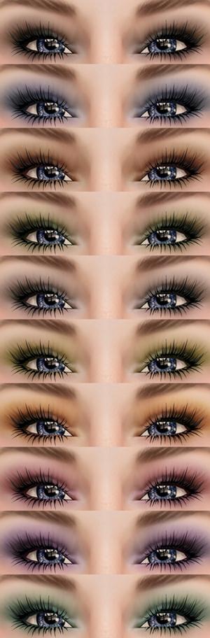 Izzie's Brianna Eyeshadows