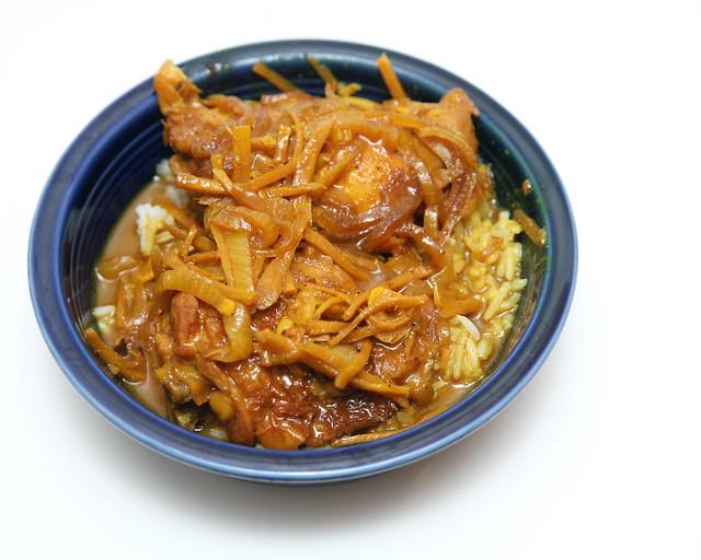 Burmese (?) Chicken Stew