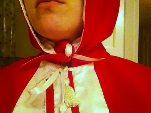 Tied Hood Flaps
