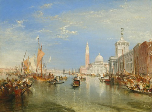 Joseph Mallord William Turner - Venice, The Dogana and San Giorgio Maggiore [1834] by Gandalf's Gallery