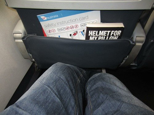 Legroom Shot on the E190