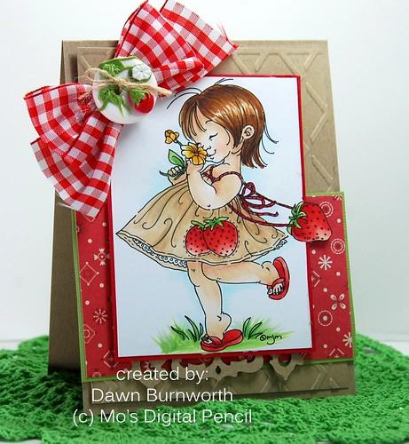 Strawberry Girl Kraft