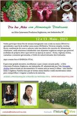Dia das Mães - 12 e 13 Maio - Alimentação Vitalizante