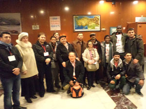 Participants in an anti-imperialist symposium in Turkey. The struggle against imperialism is important in the current phase of African and world history. by Pan-African News Wire File Photos