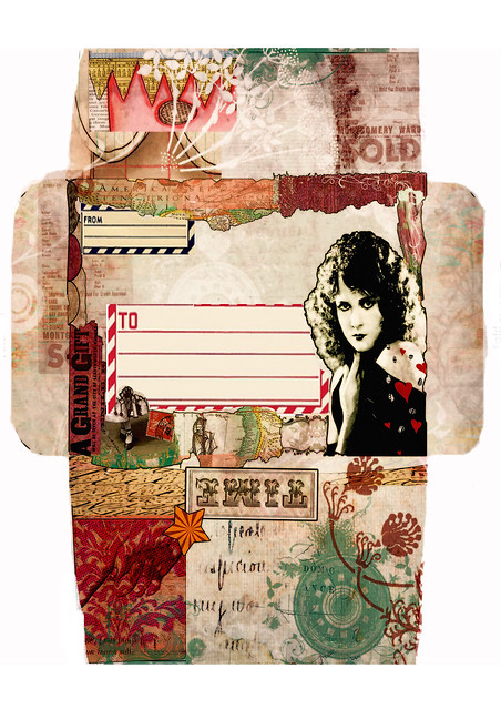 TIME - Mail art