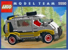 Lego Model Team Nr. 5550 Custom Rally Van - Overhaulled