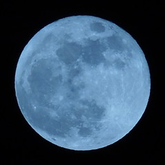 Super Moon from Tokyo, Japan