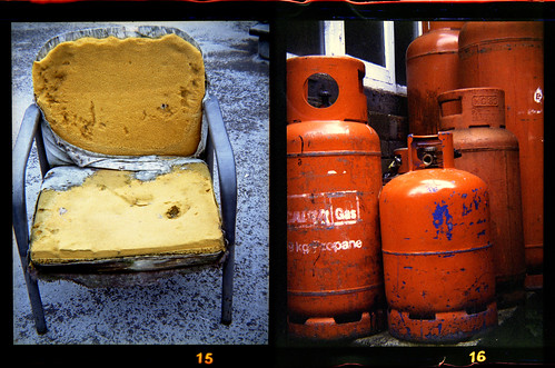 foam padding and gas cylinders by pho-Tony