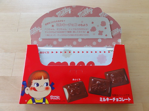 Milky Chocolate - opening