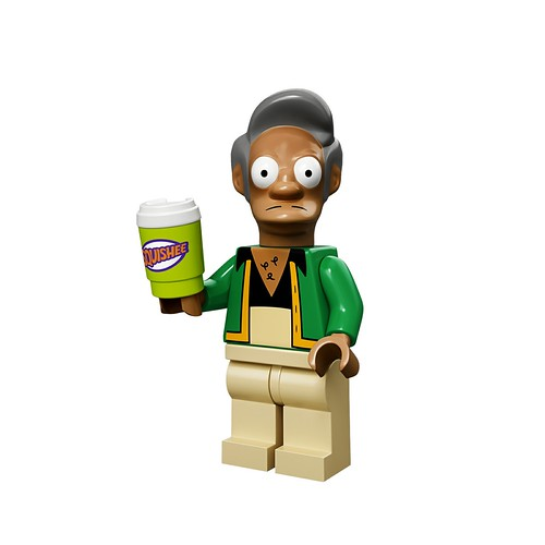 71005 The Simpsons Collectable Minifigures Apu Nahasapeemapetilon