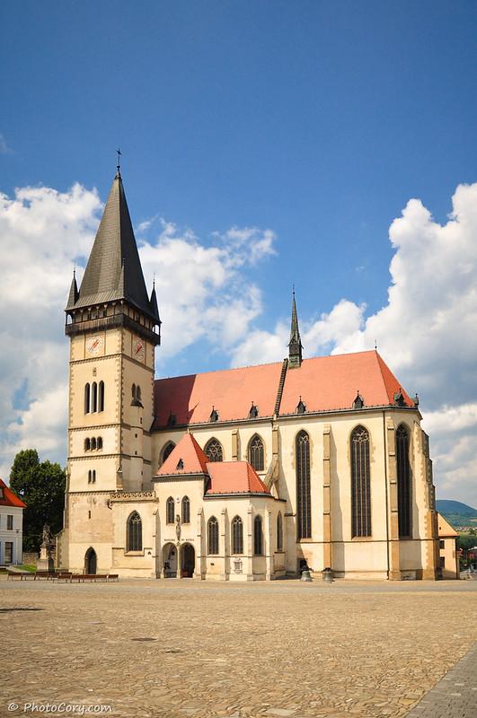 Slovakia, Church of St. Aegidius in Bardejov