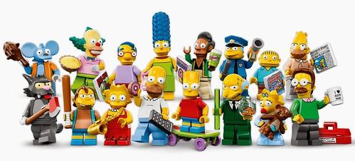 Lego Minifig Simpson