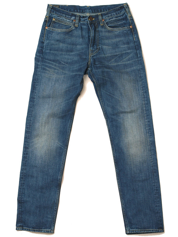 Lee for J.Crew / 101 Slim Rider Jean in Saddle Worn Wash