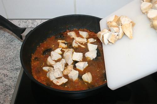 47 - Hähnchenfleisch hinzufügen / Add chicken