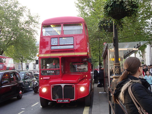London Bus Company RML2231 on Route 29, Trafalgar Square
