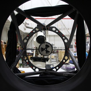 Telescope-eye view