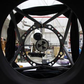 Telescope-eye view